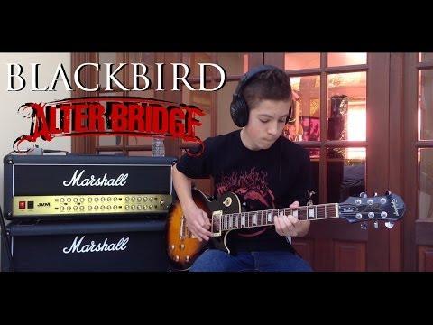 'BLACKBIRD' by Alter Bridge - Performed by Karl & Ashley Freeman (14 Years Old)