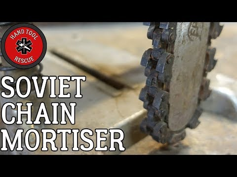 Russian Chain Mortiser [Restoration] (Part 1 of 2)