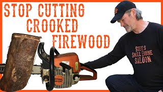 How to Repair a Chainsaw That Cuts Crooked