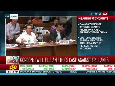 Gordon cites Trillanes in contempt, threatens to file ethics case