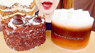 ASMR TIRAMISU CAKE, CHOCOLATE …