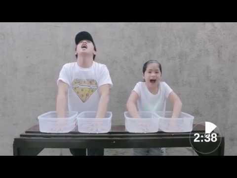 Ice Pain Challenge | Ranz & Niana
