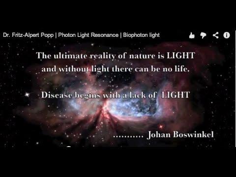Dr. Fritz-Albert Popp | Photon Light | Beings of Light