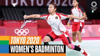 Women's Doubles 🏸 Badminton Gold Medal Match| Tokyo Replays
