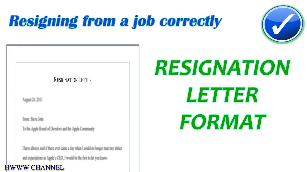 Format Of Resign Letter from i.ytimg.com