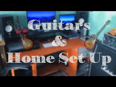 Guitars And Home Studio Tour