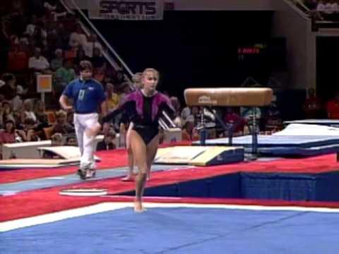 Shannon Miller  Floor Exercise  1996 U.S Gymnastics Championships  Women