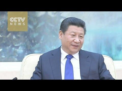 Xi Jinping meets European Parliament president in Beijing