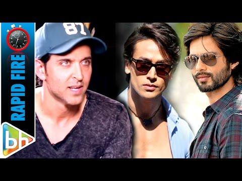 Hrithik Roshan's Kaabil Rapid Fire On Dhoom 4 | Shahid Kapoor | Tiger Shroff
