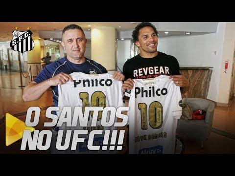 O SANTOS NO UFC: CONHEÇA A HISTÓRIA DE ERYK ANDERS E THIAGO