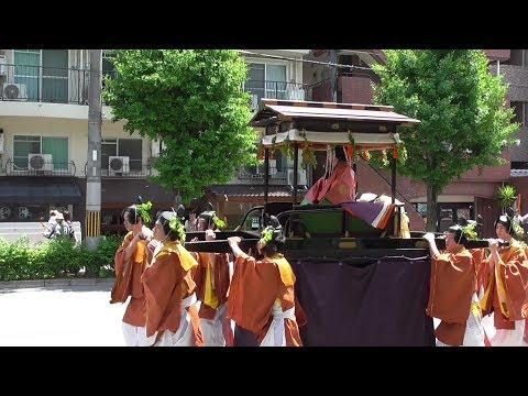 京都 葵祭 2018年 京都御苑~下鴨神社 Aoi Matsuri ( Kyoto Gyoen ~  Shimogamo shrine )