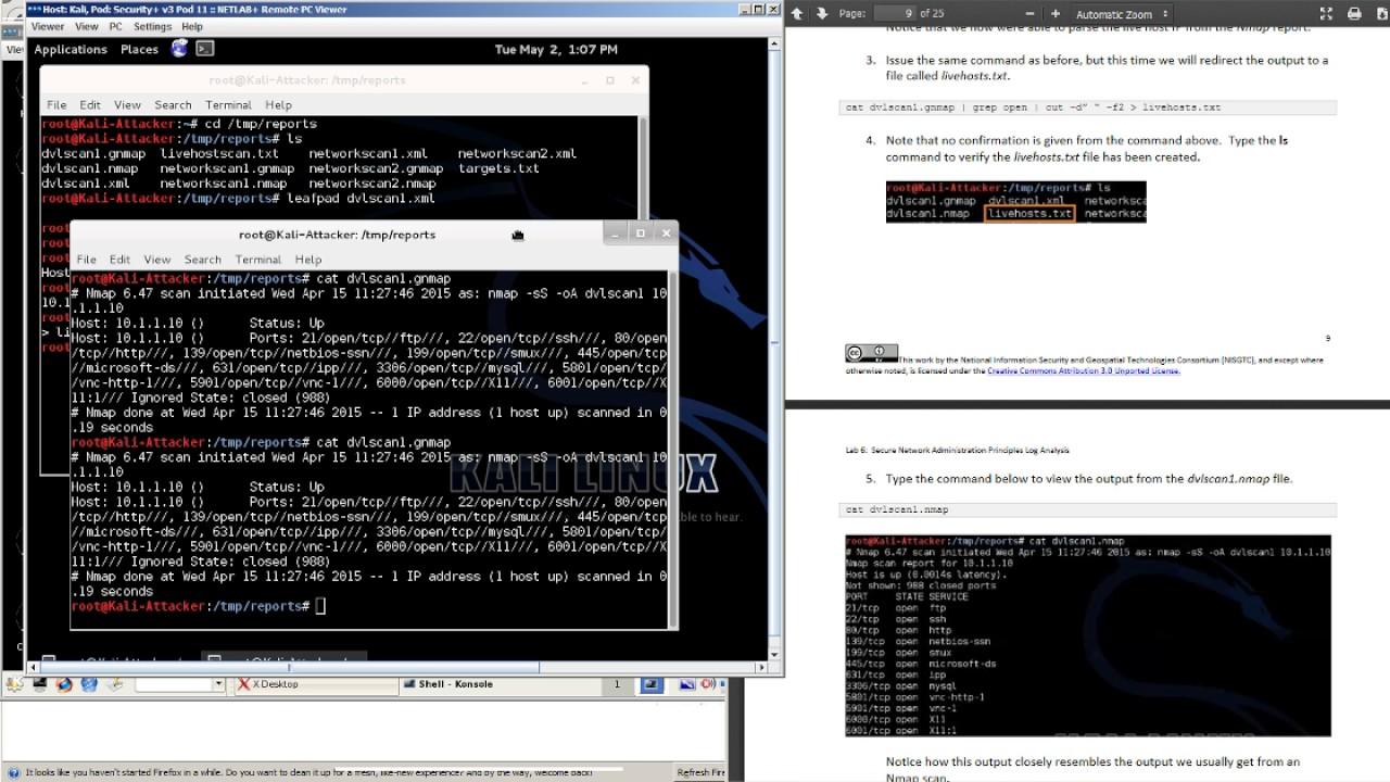 Kali Linux Log Analysis