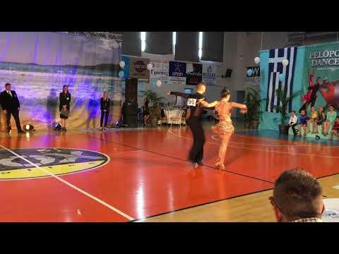 PELOPONNESE DANCE OPEN, SAMBA (3 dance latin youth)