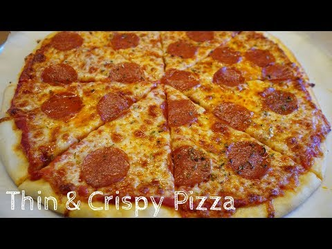 How to Make Thin & Crispy Pizza