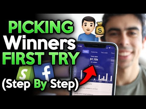 [Full Strategy] Picking Winning Products First Try | Shopify Dropshipping 2019