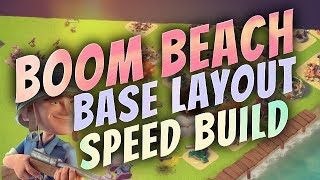 Boom Beach - Base Speed Build - Hq 4 & 5 Designs / Layouts