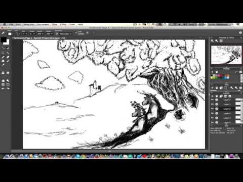 Let's Pixel/Draw - Ferdinando Picture Book Timelapse