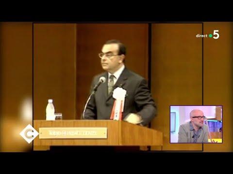 Carlos Ghosn : La Chute Du Grand Patron ! - C à Vous - 21/11/2018
