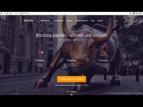 Bit4Coin Gutscheincode einlösen