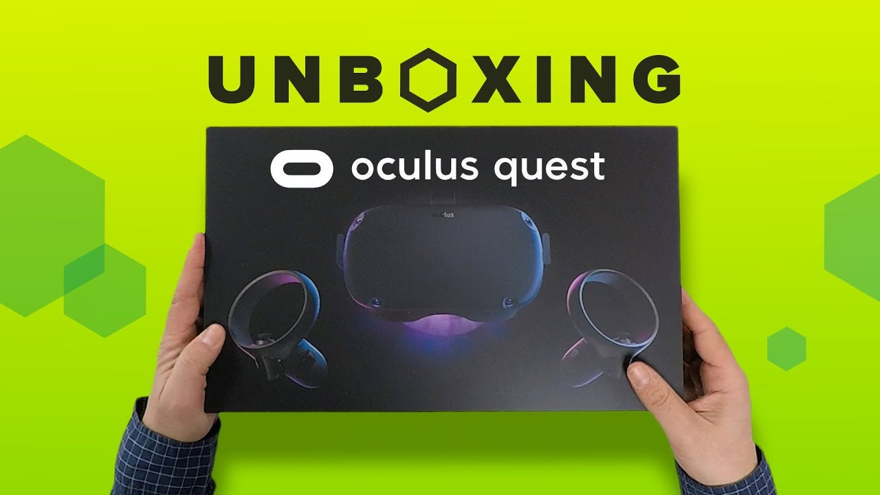 Oculus Quest unboxing: The wildest new VR kit