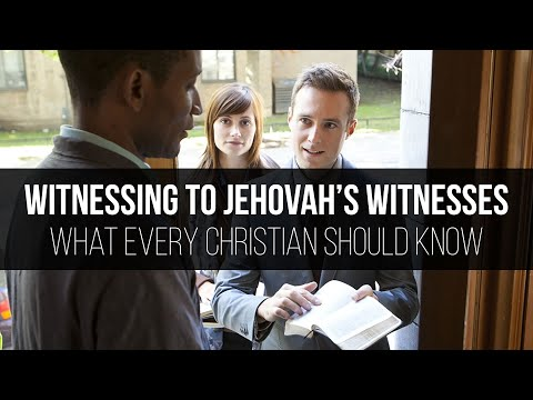 Witnessing to Jehovah's Witnesses: What Every Christian Should Know - Jerry Robinson