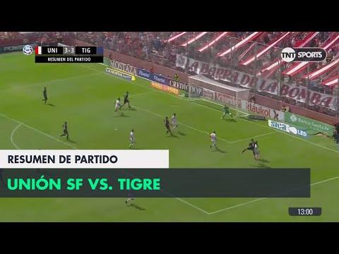 Resumen de Unión SF vs Tigre (3-3) | Fecha 23 - Superliga Argentina 2017/2018