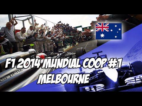 F1 2014 Australia | 1/8 Trayectoria Coop con Javift14 | McLaren | IA Leyenda PS3 [ESP]