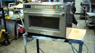 Panasonic Commercial Microwave Oven NE-3280 Watts 3200