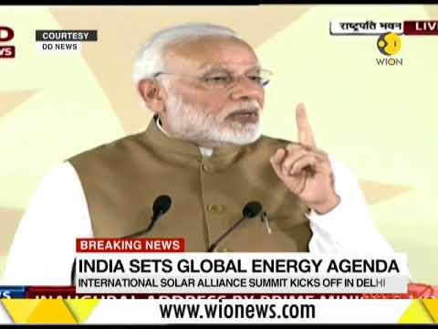India, France first International Solar Alliance summit begins In Delhi