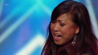 Ibu dan Anak dari Indonesia di British Got Talent 2016 bikin MERINDING dengernya !!!!