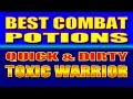 Skyrim SE The Quick Dirty Toxic Warrior BEST COMBAT POTIONS mp3