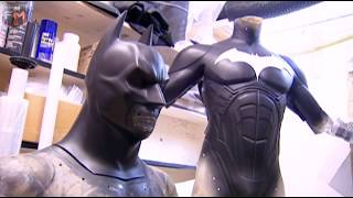 Creating Batsuit & Cape 'Batman: Begins' Behind The Scenes