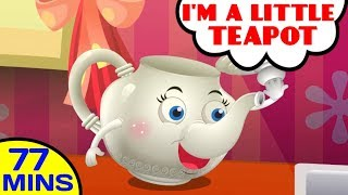 I'm a Little Teapot by Baby Hazel Nursery Rhymes | More Food Songs and Rhymes for Kids