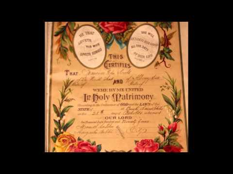 Guyana: 1894 Da Costa Gonsalves Family Bible