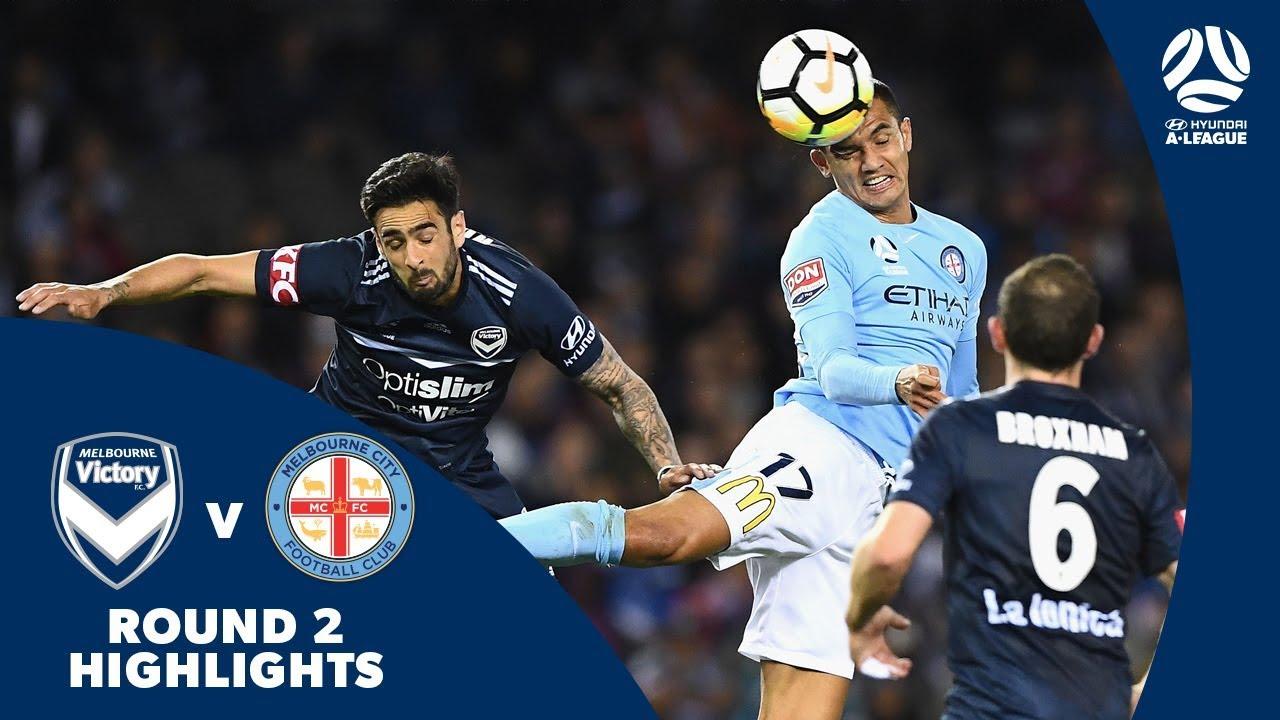 Download Hyundai A-League 2017/18 Round 2: Melbourne Victory 1 - 2 Melbourne City