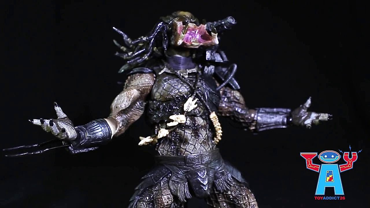 Review Predator Play Arts Kai Figure By Square Enix Youtube