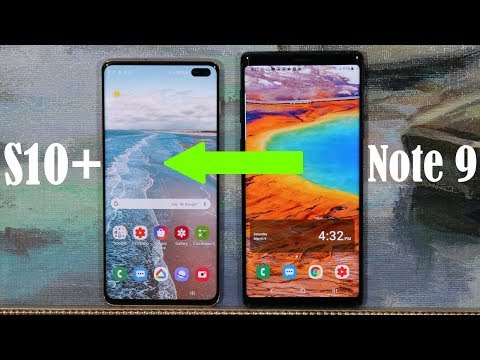 Why I Switched from the Galaxy Note 9 to the Galaxy S10 Plus
