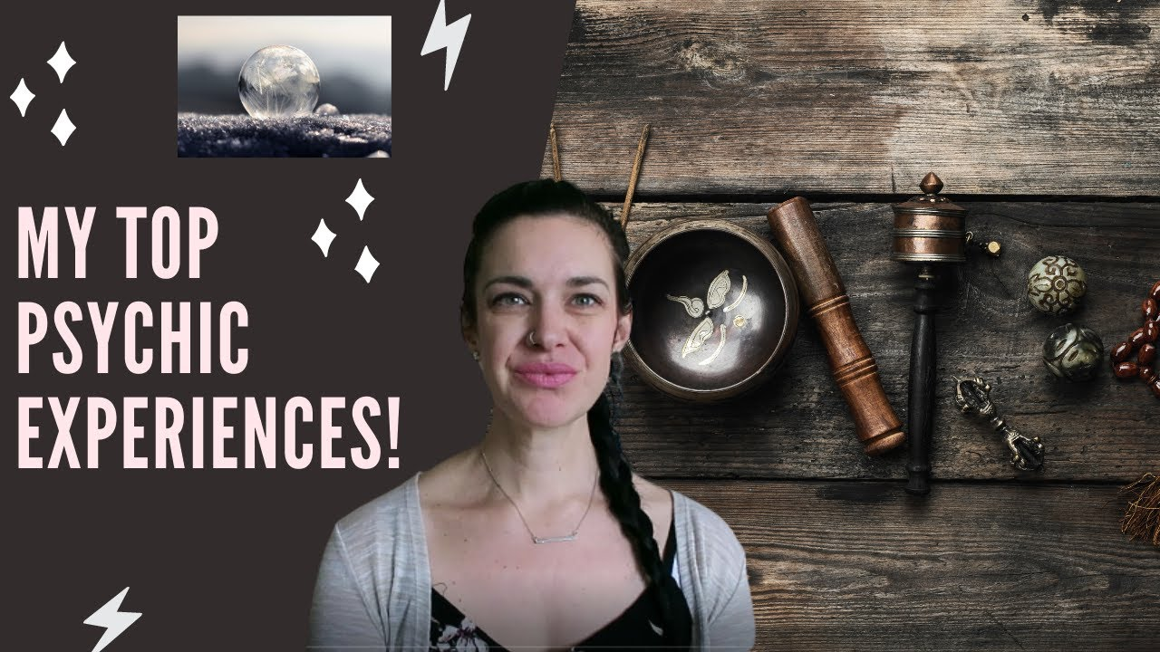 My Top 3 Crazy Psychic Experiences | Meghan Olsgard