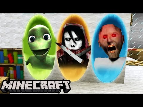 PORTALE DO: GRANNY, JEFF THE KILLER, DAME TU COSITA - Minecraft