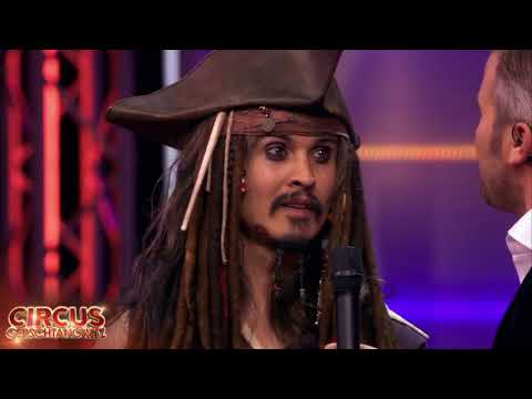 Wauw! Is dit echt Jack Sparrow?   Circus Gerschtanowitz