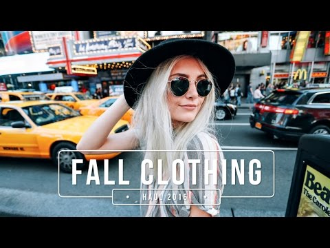 Fall Clothing Haul + Outfit Ideas 2016! | Aspyn Ovard from YouTube · Duration:  7 minutes 3 seconds