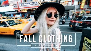 Fall Clothing Haul + Outfit Ideas 2016!  | Aspyn Ovard