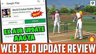 WCB New Update 1.3.0 | Full Review Video | New Update WCB | Version 1.3.0