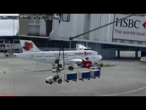 Airbus A318-111 Vancouver (CYVR) to Anchorage (PANC) P3D v3.4