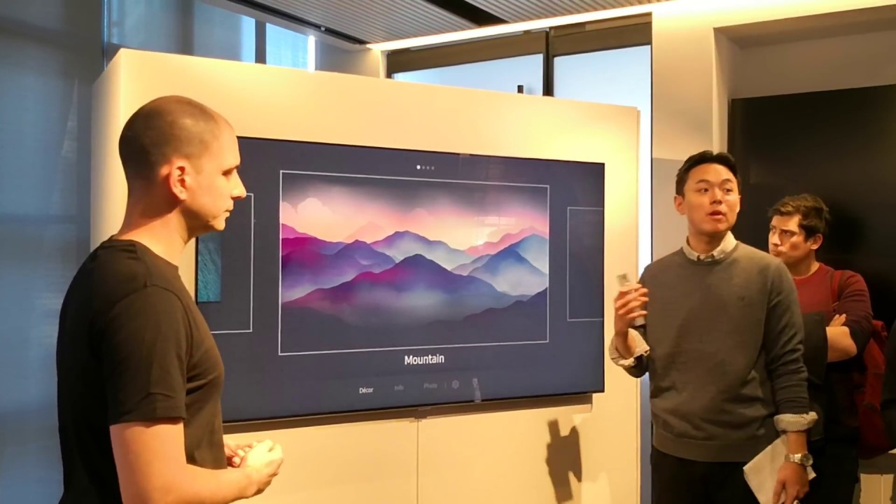 Samsung QLED 2018 Ambient mode