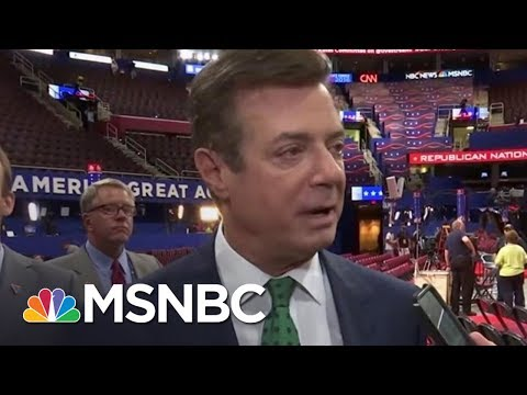 Paul Manafort Files Retroactively As Foreign Agent | Rachel Maddow | MSNBC