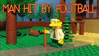 LEGO SIMPSONS: HANS MOLEMAN - MAN HIT BY FOOTBALL