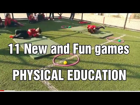 11 Fun physical education games | pe games | primary school aktivities | eğitsel oyunlar