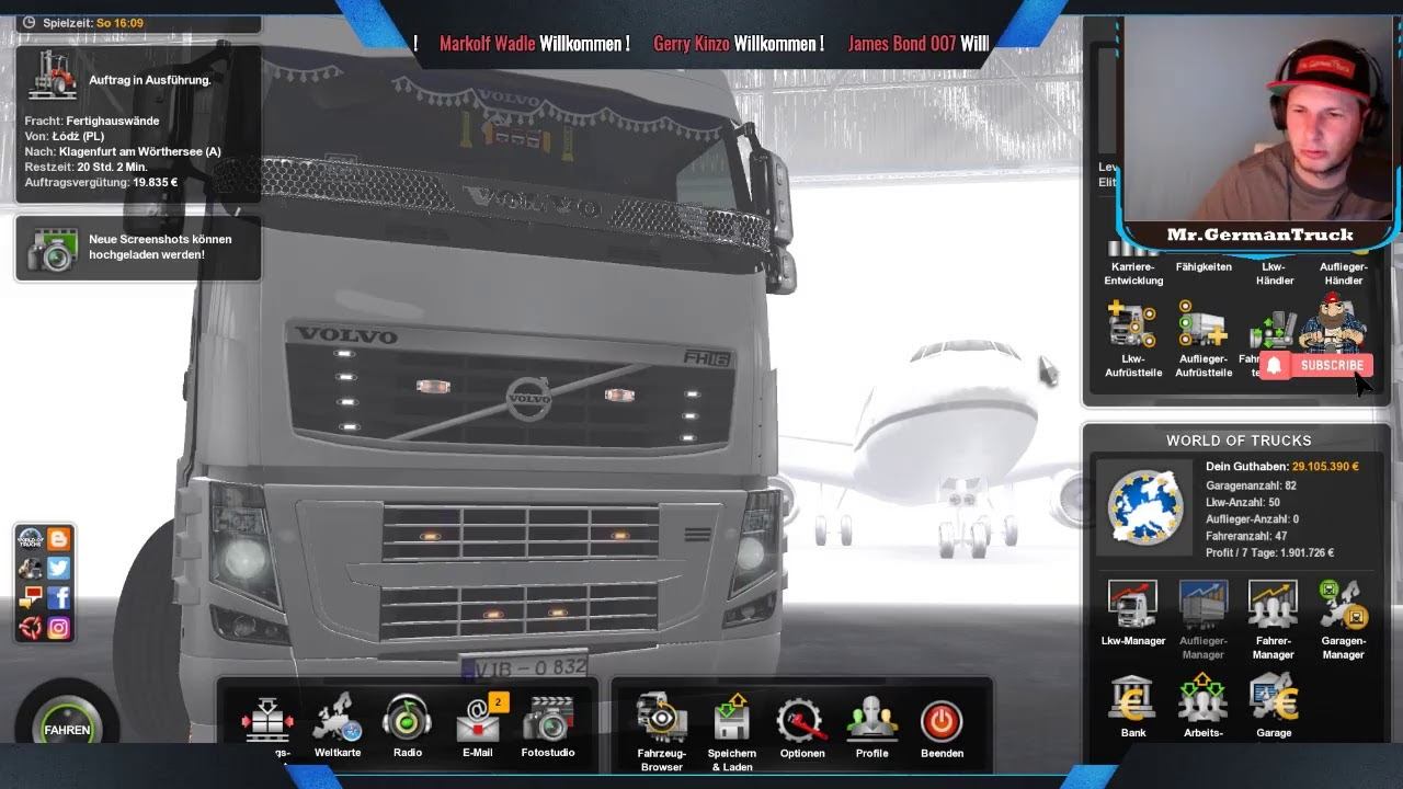 [ETS 2 v1.37] On the Road *Erste Tour mit dem Volvo Tuning DLC*