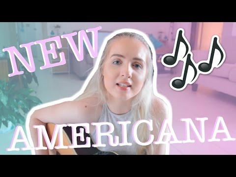 New Americana by Halsey | Meg Mattingley Cover